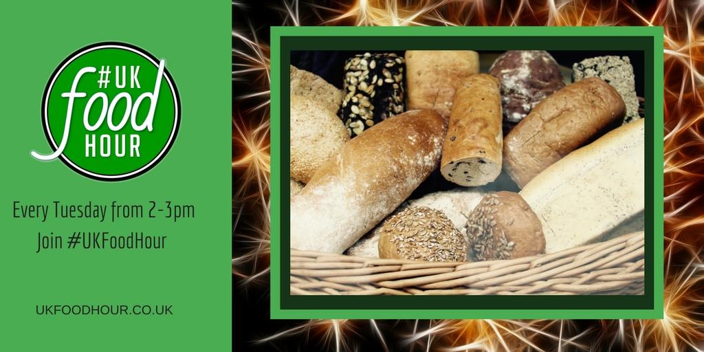 Bread on #UKFoodHour 11th September 2018