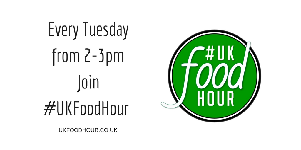 Equipment on #UKFoodHour on 2nd October 2018